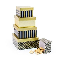 Gift Boxes & Towers with Snacks