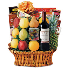 CEO Cabernet Wine Gift Basket