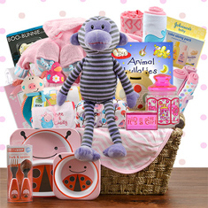Fabulous Family Girl Gift Basket