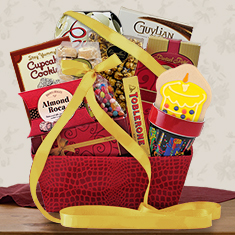 Happy Birthday Gourmet Gift Basket