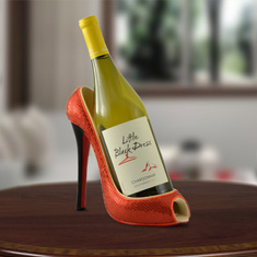 High Heel Chardonnay Wine Caddy