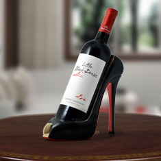 High Heel Cabernet Wine Caddy
