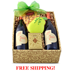 Springtime Red Wine Duo Gift Box