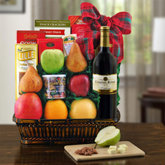Talk Of The Town Cabernet Wine Gift Basket
