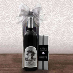 Silver Oak Alexander Valley Cab Sauv & Wine Gift Box