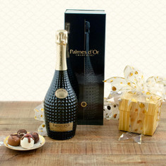 Nicolas Feuillatte Palmes d'Or Champagne & Truffles Gift