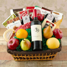Fifth Avenue Fruit & Wine Gift
