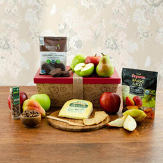 Healthy Options Organic Fruit & Snax Gift Box